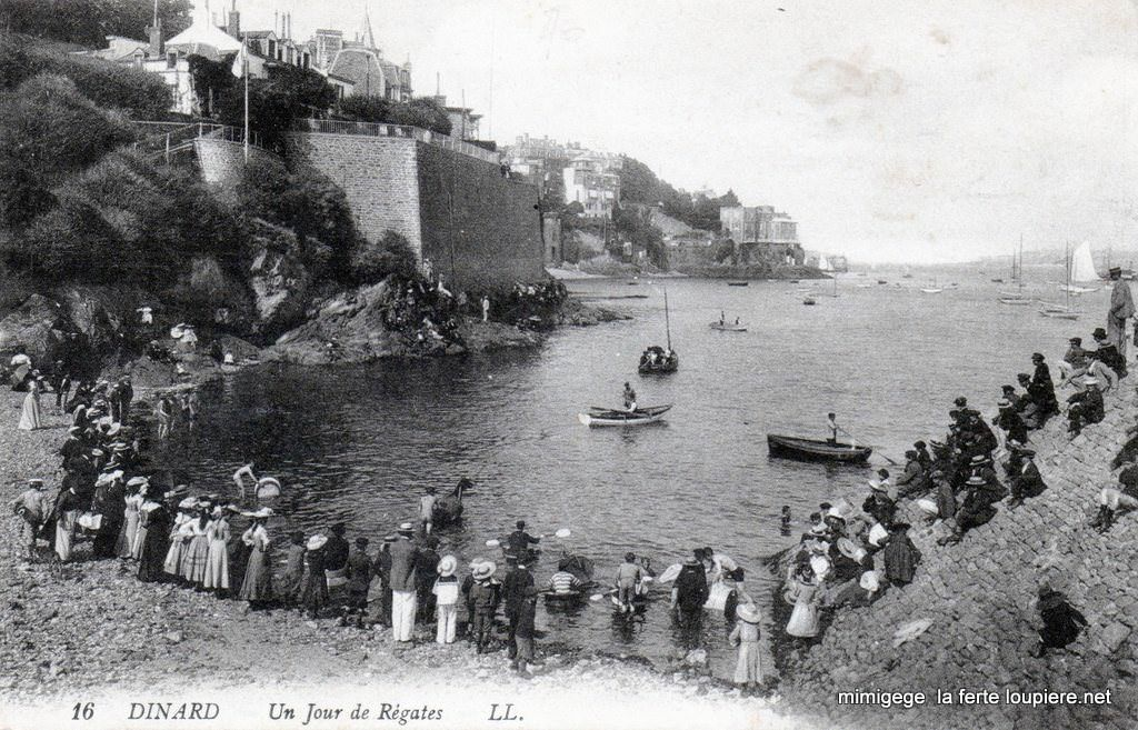 Dinard. Un jour de régates | Dinard, Bretagne, Photos anciennes