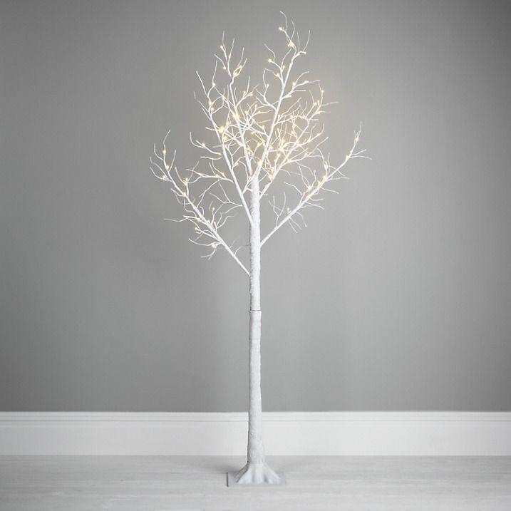 pre lit twig christmas trees