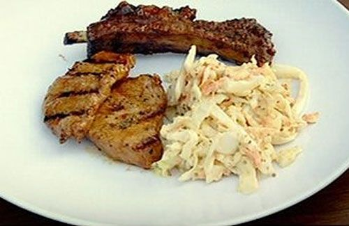Gordon ramsays bbq spare ribs gordon ramsey pinterest gordon ramsays f word articles coleslaw recipe channel 4 forumfinder Choice Image