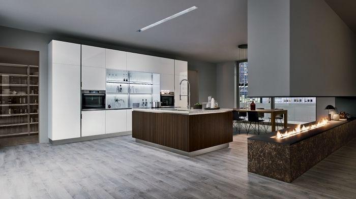 1001 Variantes De La Cuisine Avec Ilot Central Moderne Et Stylee Cuisine Design Moderne Cuisine Moderne Cuisine Ouverte