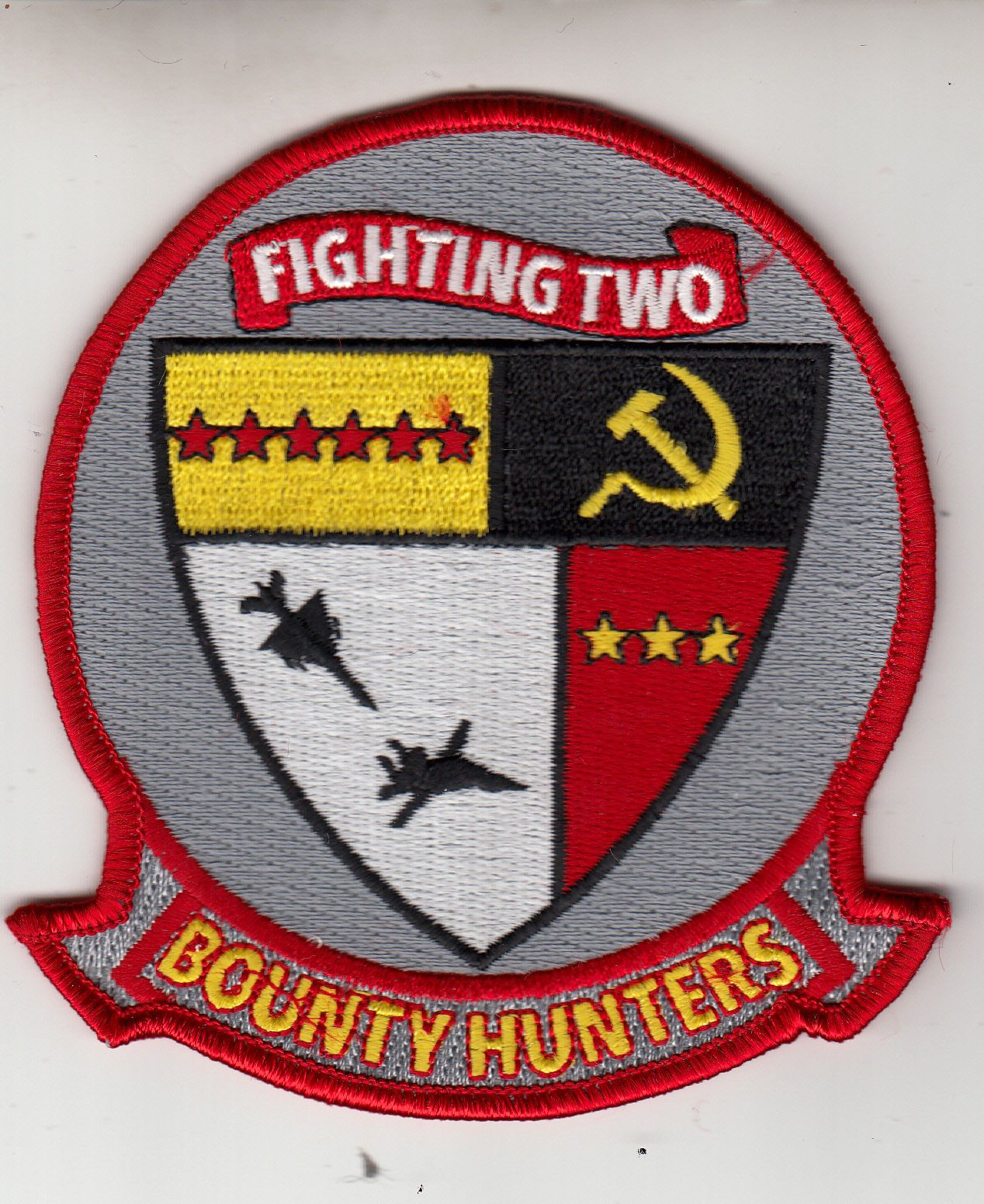 Vfa 2 bounty hunters red air command chest patch us navy vfa 2 bounty hunters red air command chest patch buycottarizona Image collections