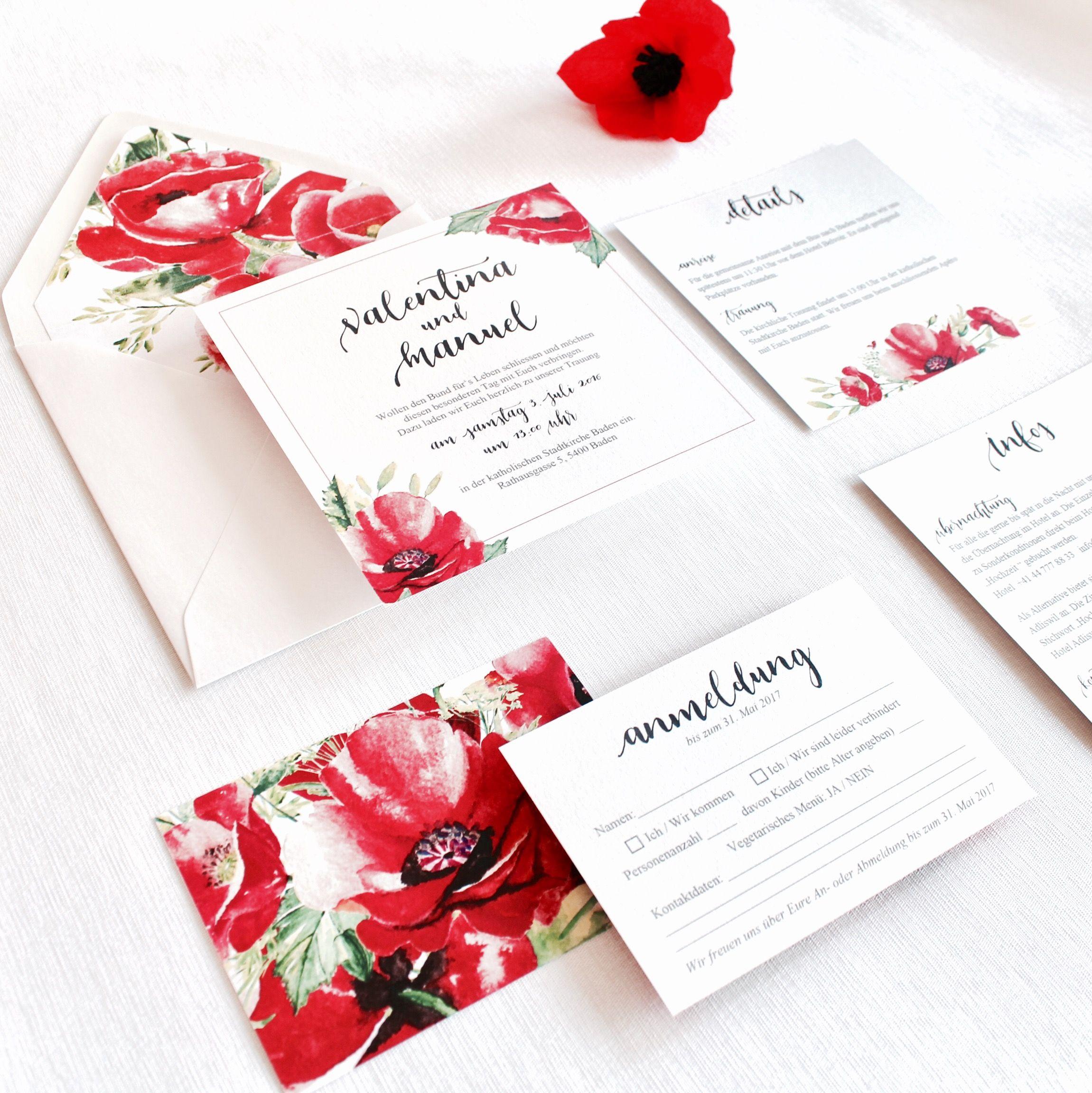 Pin By Blattpapier Studio On Red Poppy Pinterest Calligraphy