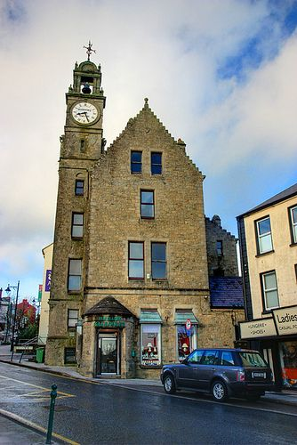 Gallogleyu0027s Clock Tower, Ballyshannon, Co Donegal, Ireland