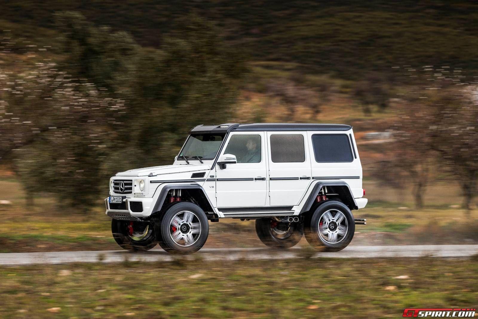 White mercedes benz g500 4x4 6 pinterest mercedes for Mercedes benz 4x4 truck