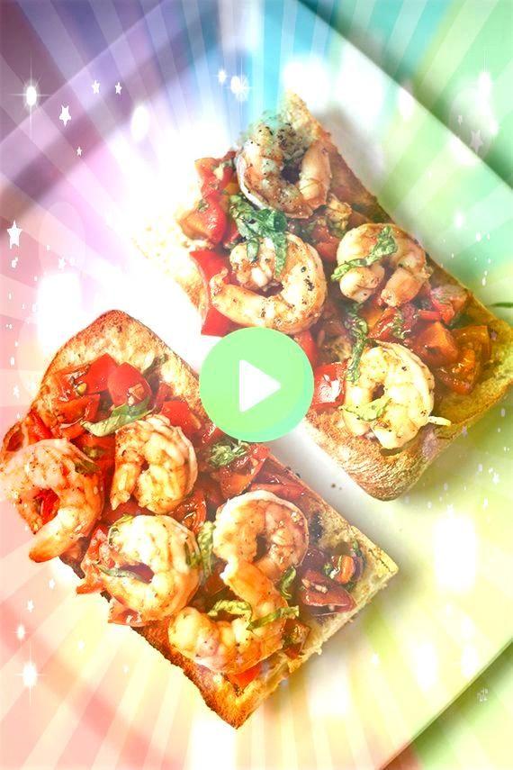 Shrimp Bruschetta Toasts  Busy But HealthyEasy Shrimp Bruschetta Toasts  Busy But Healthy easy Whole30 Crockpot Buffalo Chicken Meatballs Easy Shrimp Bruschetta Toasts  B...