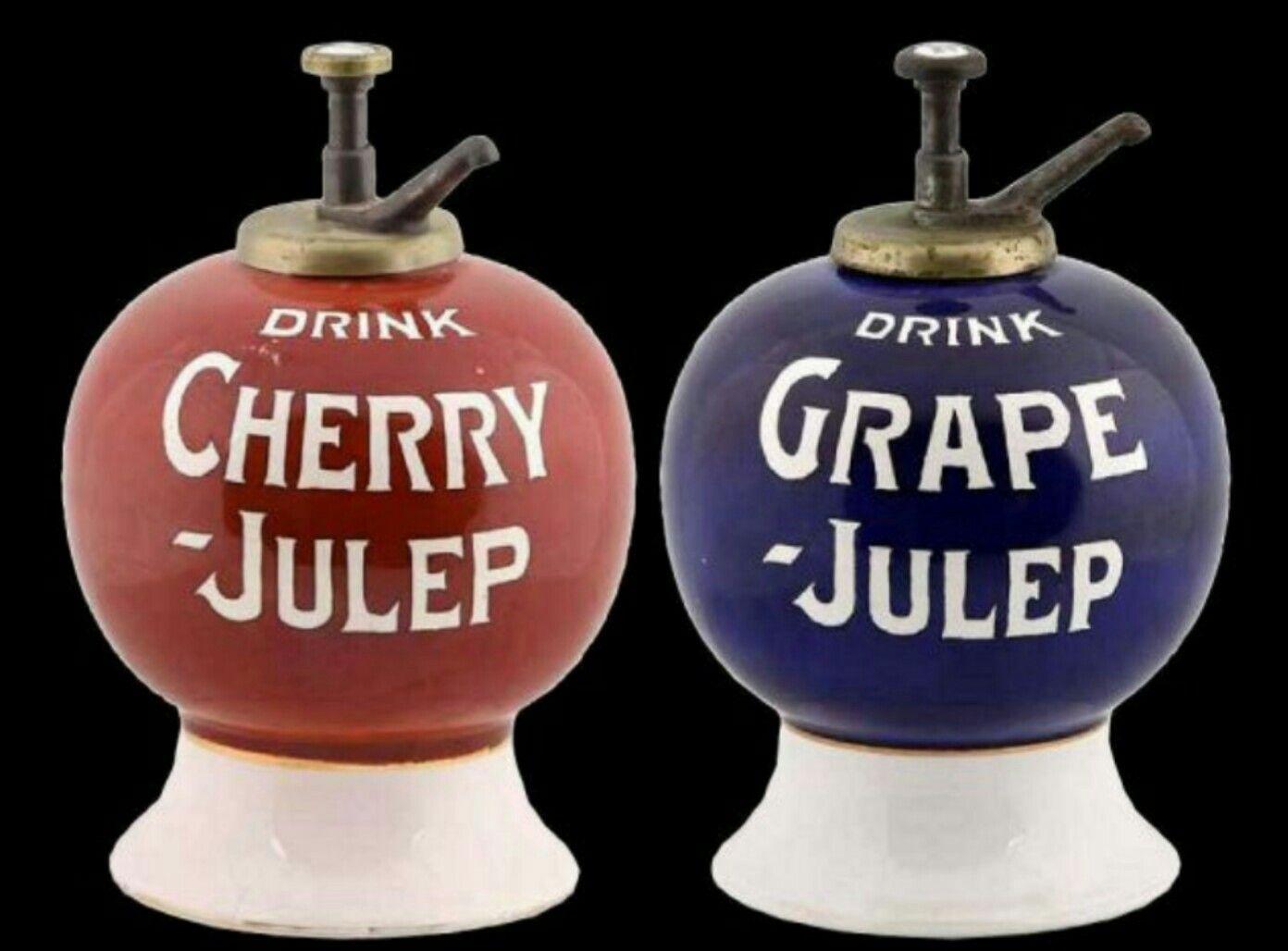Original Cherry Grape Julep Soda Fountain Syrup Dispensers Soda Syrup Soda Fountain Drink Dispenser