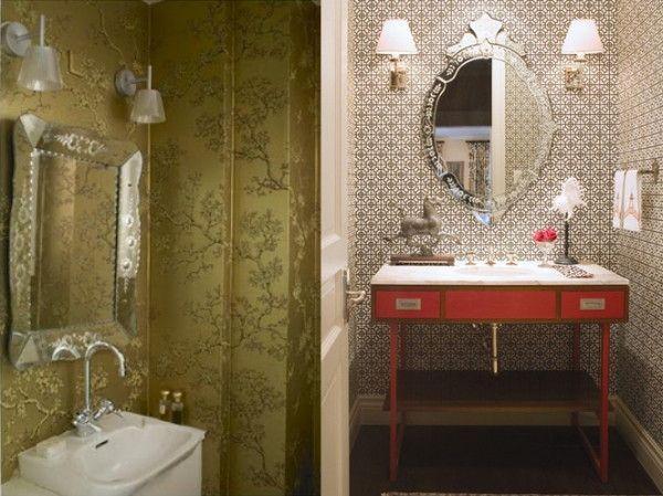 Tapete Badezimmer ~ Best tapeten im badezimmer images wall papers