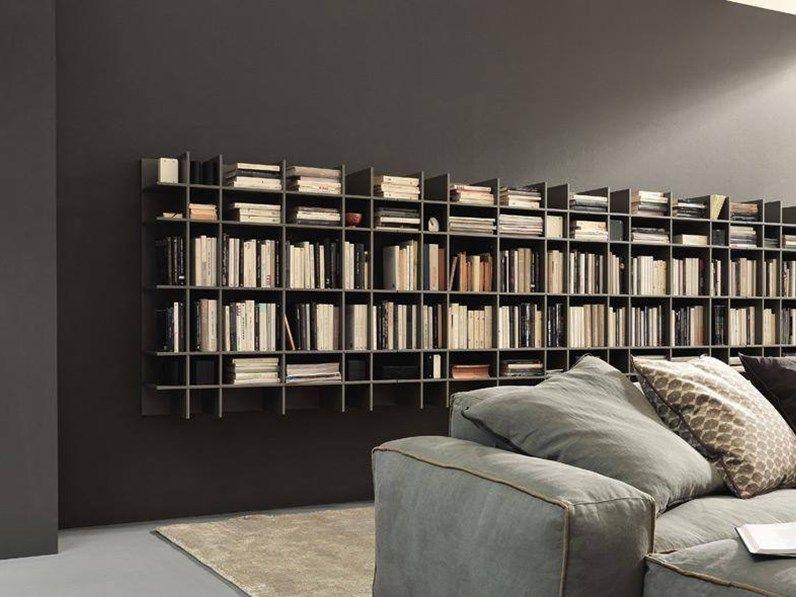 Libreria Moderna Laccata.Libreria Modulnova Modulnova Offerta Outlet Mobili In