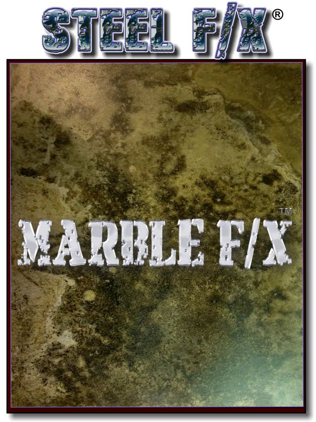 Marble Fx Green Black Steel Patina Hero Label Steel F X Patinas