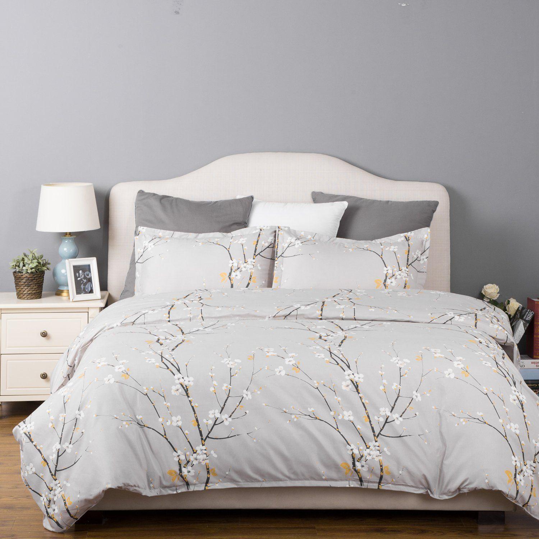 AmazonSmile Spring Bloom Pattern Bedding Set Full/Queen