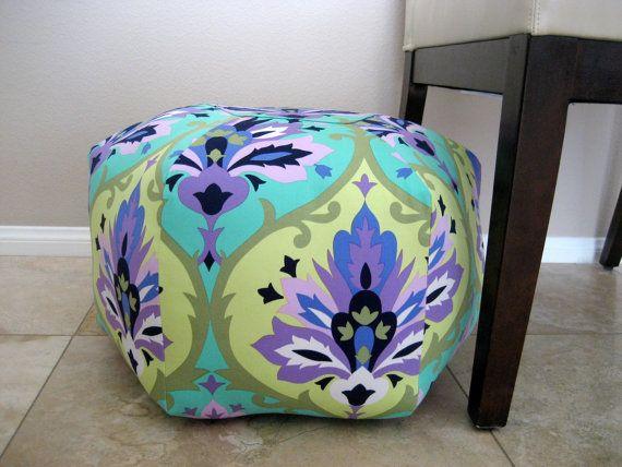 Pouf Amy Butler Fabric Design Decor Pinterest Amy Butler Classy Amy Butler Pouf Ottoman
