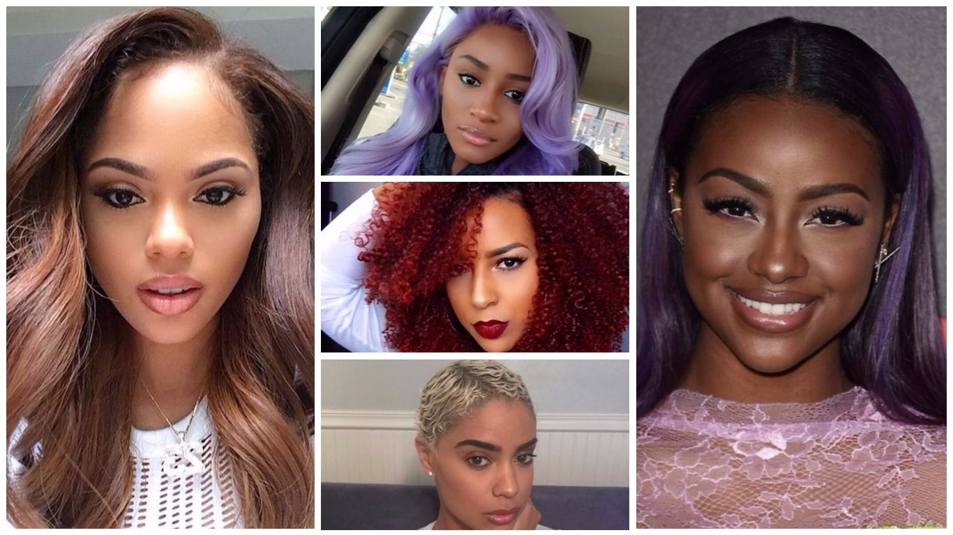 Hair Color Ideas 2019 For Black Women Hair Color Ideas 2019 For Dark Skin Tone Is That Th Hair Color For Black Hair Black Women Hair Color Hair Color For Women