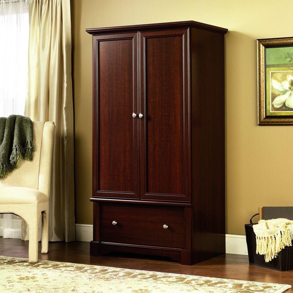 furniture closets sauder wardrobe closet