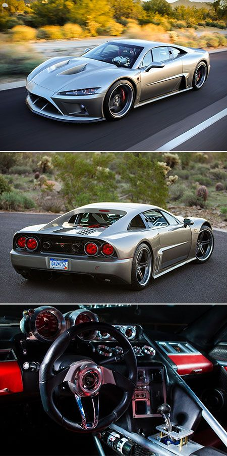 Falcon F7 Is American Supercar Powered By 1100hp V8 Engine Touted As Ferrari Fighter Techeblog Performance Cars Super Cars Fast Cars