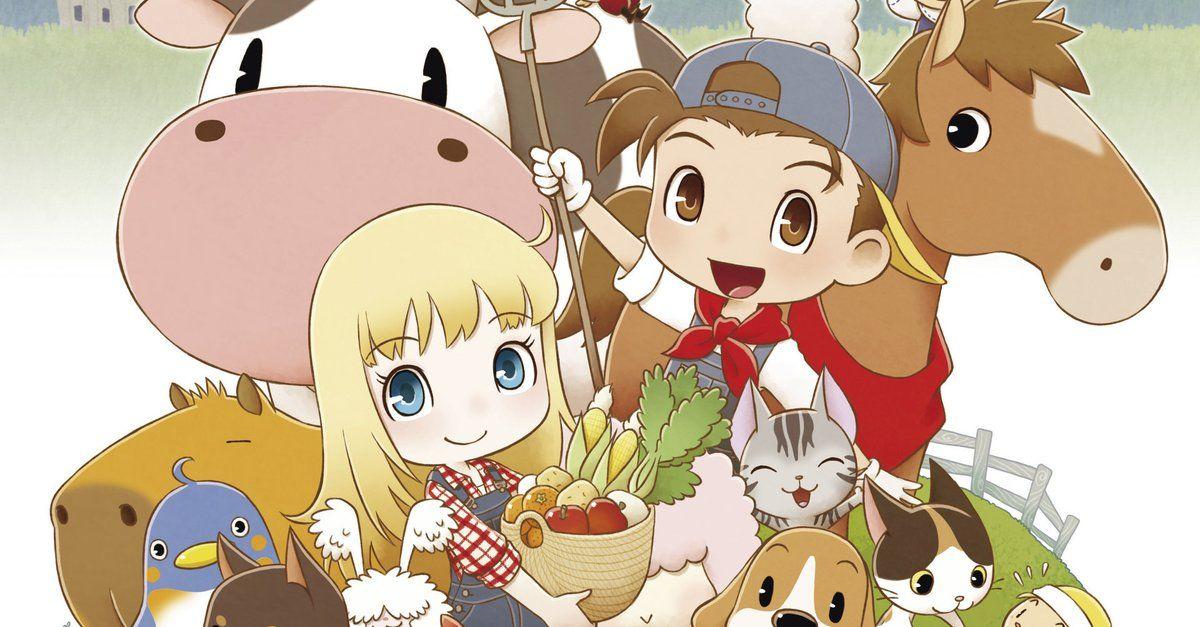 Das Fur Viele Beste Harvest Moon Spiel Bekommt Ein Remake Fur Die Switch Story Of Seasons Harvest Moon Nintendo