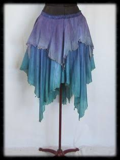4726f786f Image result for how to diy tutorial tattered fairy leather wrap skirt