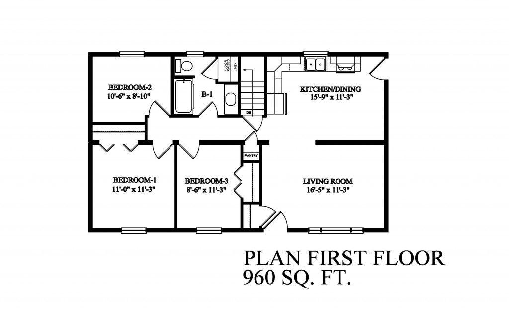 Image result for 24' x 40' floor plans | Garage floor ...