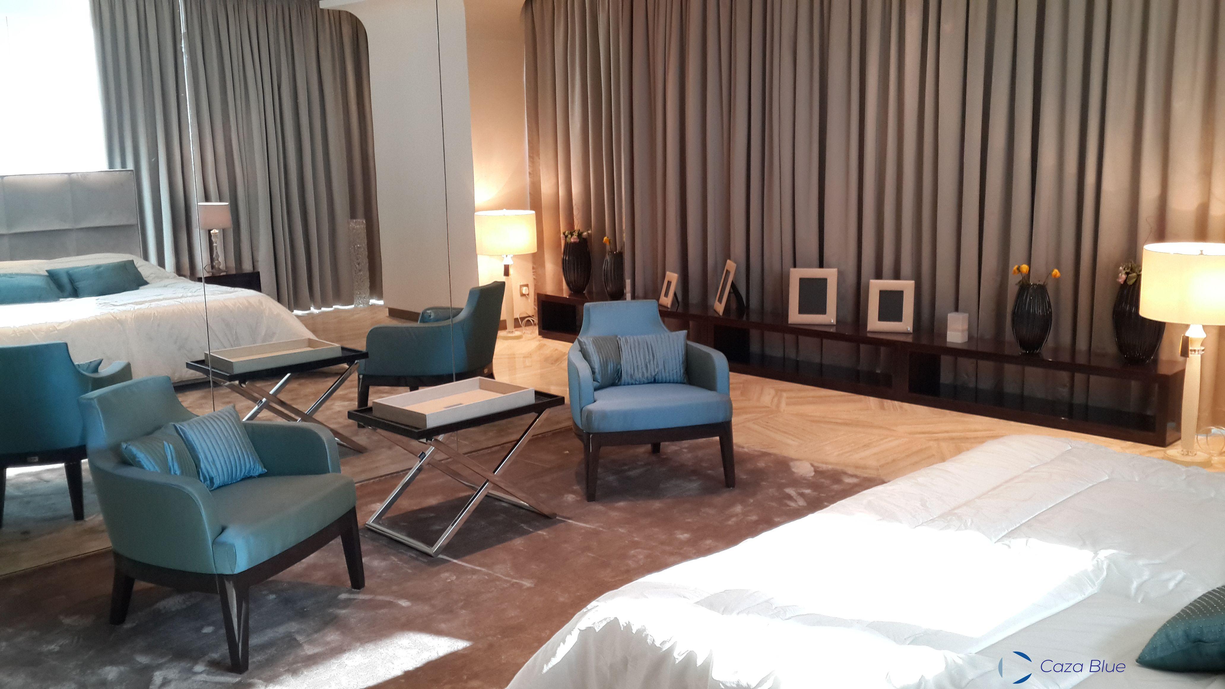 Woodworks Hotel Bedroom Living Room Mock Up Caza Blue Amman Jordan Interior Design Interior Designer Home Decor Home Room