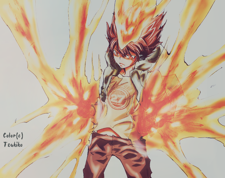Tsuna - Ready to fight by Tsukiko1991 on DeviantArt