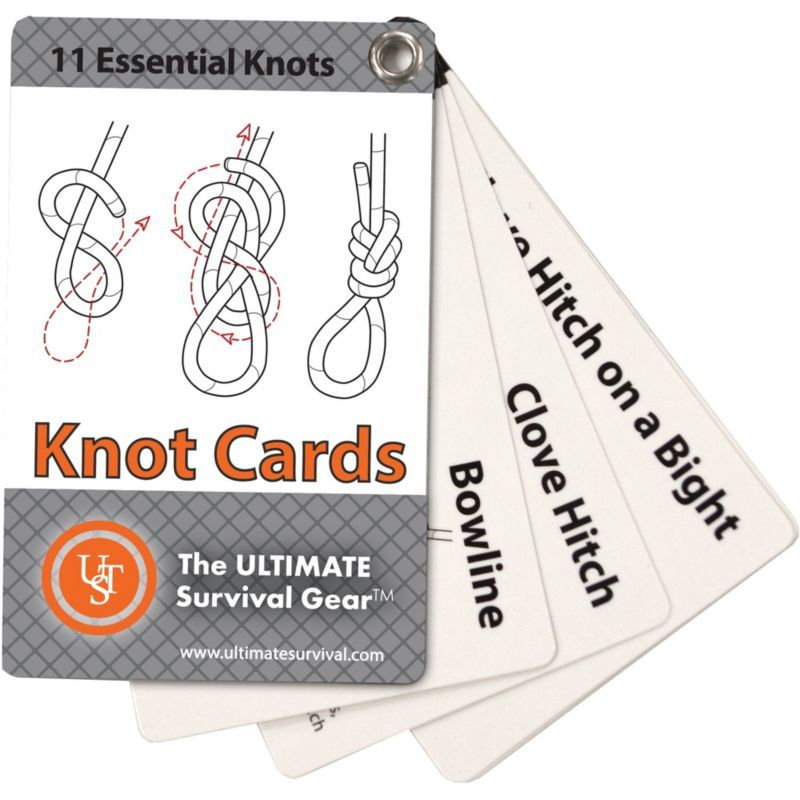 UST Mamiya Live and Learn Knot Cards Survival, Knopen
