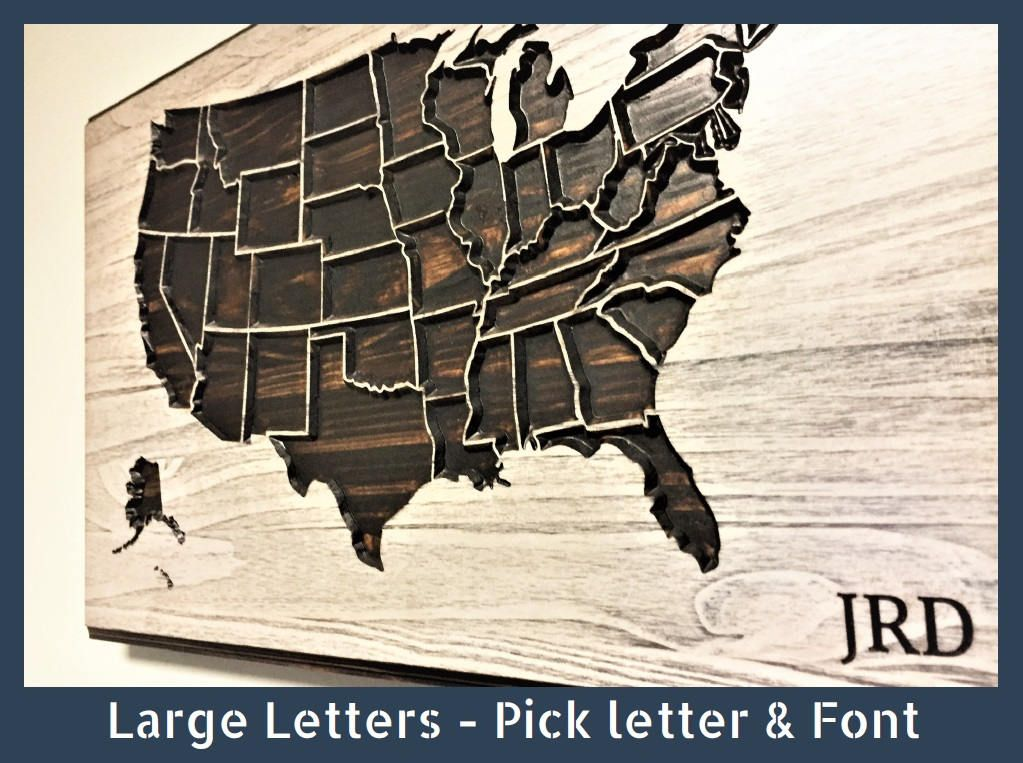 Howdy Owl Signs US Map Wall Decor Custom Text Personalized