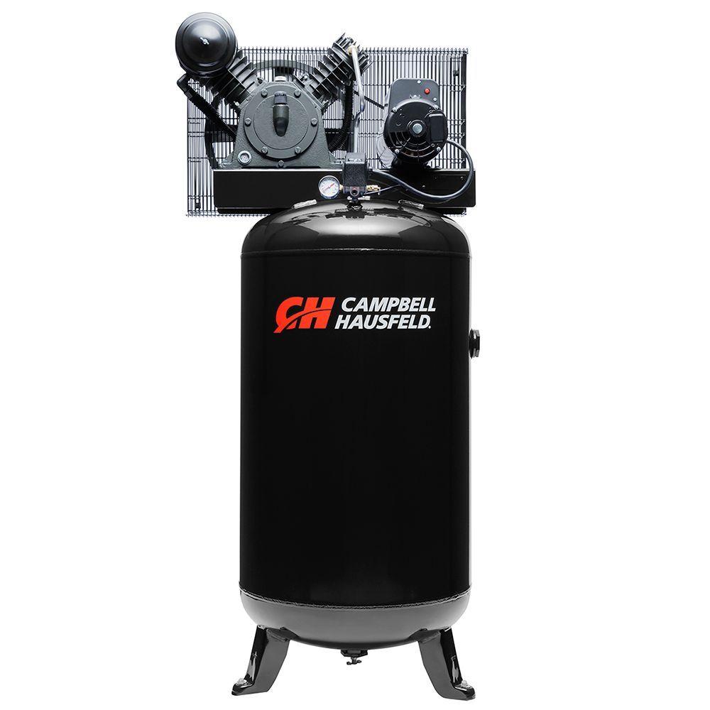 Air Compressor 80 Gallon 14cfm 5hp 208 230v 1ph Ce3000