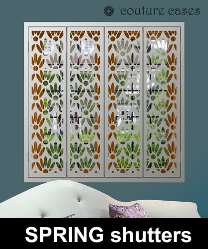 Security Window Shutters In Exclusive Designs For Modern Windows. Transform  Your Interior With Decorative Custom