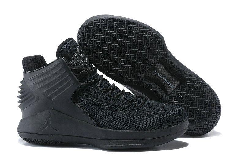 df284c5e3dd6e Men On sale Nike Air Jordan 32 XXXII PF Rosso Corsa All Black AJ32  AH1253-010