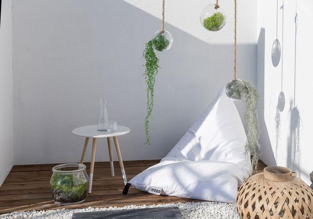 Déco Jardin Ambiance Lounge Et Cosy Terrasse Zen Pouf