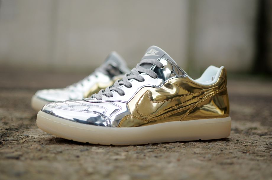 new style 87c60 a7909 Nike Tiempo DLX Liquid Metal Two Tone