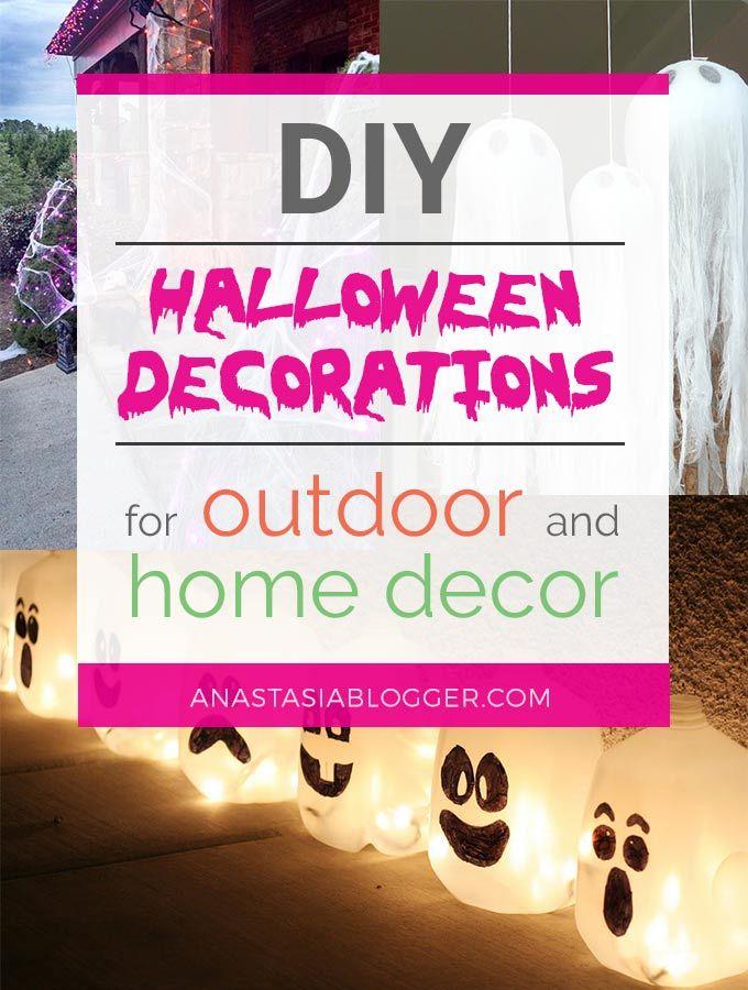 DIY Halloween Decorations for Outdoor Diy\u0027s Pinterest Diy - do it yourself outdoor halloween decorations