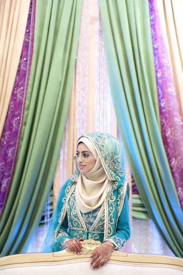 Wedding decorations muslim october 2018  Wedding Hijab Looks  Muslim brides Muslim women and Modern times