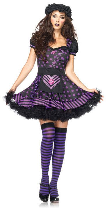 image detail for women men adult halloween costumes ladies scary doll halloween costume