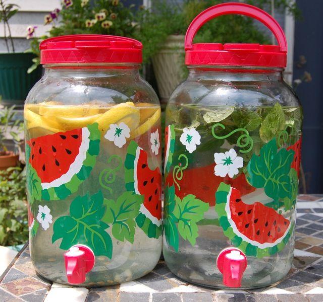 Herbal Sun Teas and other Fun Summer Drinks inspirationsandexplorations.wordpress.com