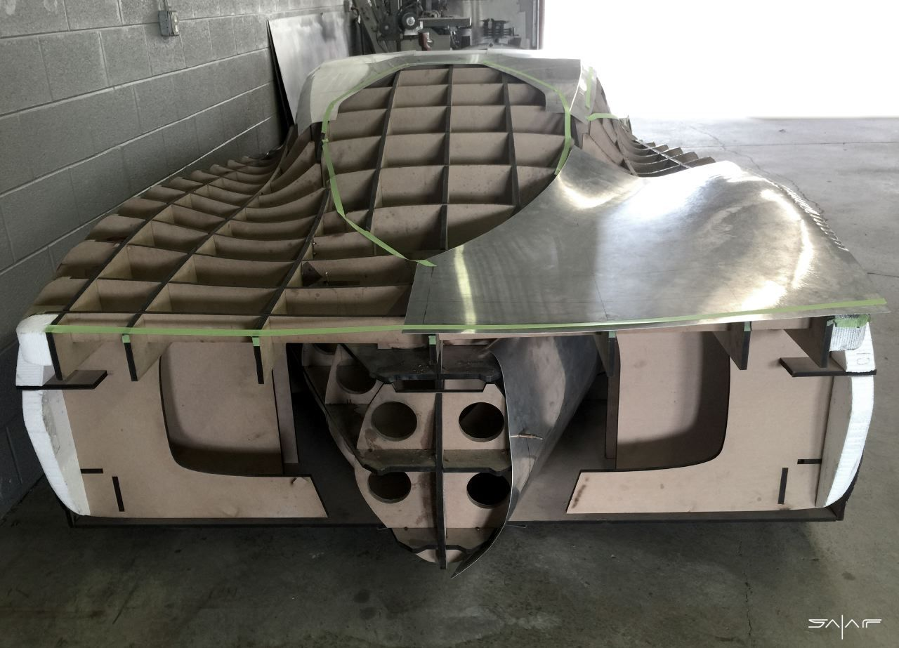 Designer Follows Passions And Dreams To Build His Own Supercar Super Cars Sheet Metal Fabrication Custom Metal Fabrication