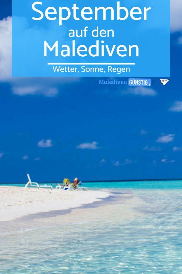 Malediven September Wetter