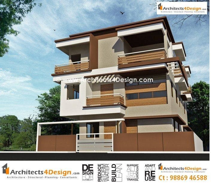 Icymi front design of small house in india double story for Small house elevation in india