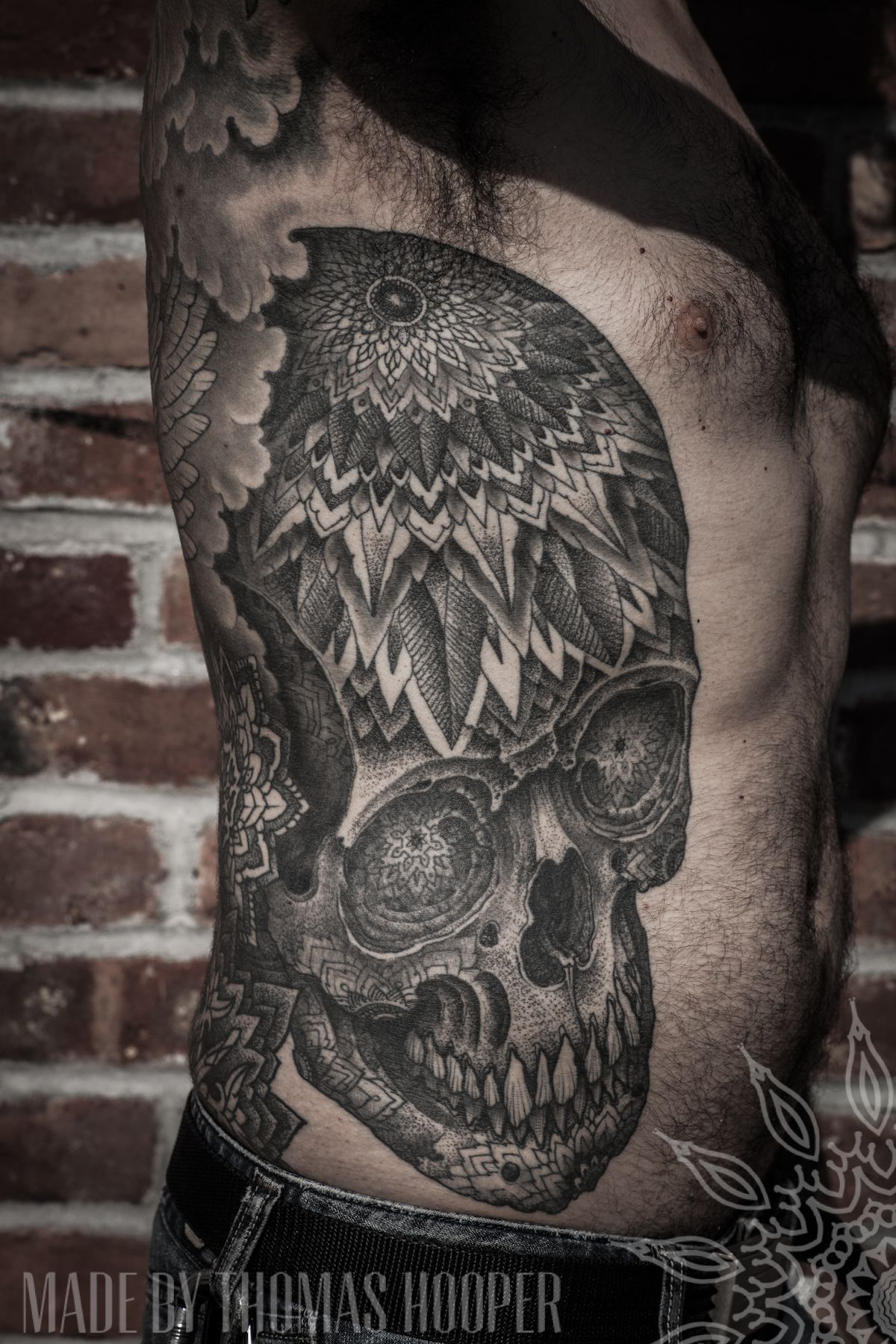 a003b51f9f947 Tattoo by Thomas Hooper. I really wanted to pin one of his full backpieces  but pinterest doesn't like butts I think. :(