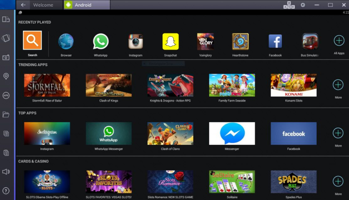 BlueStacks download for Windows 10 is completely free and we will