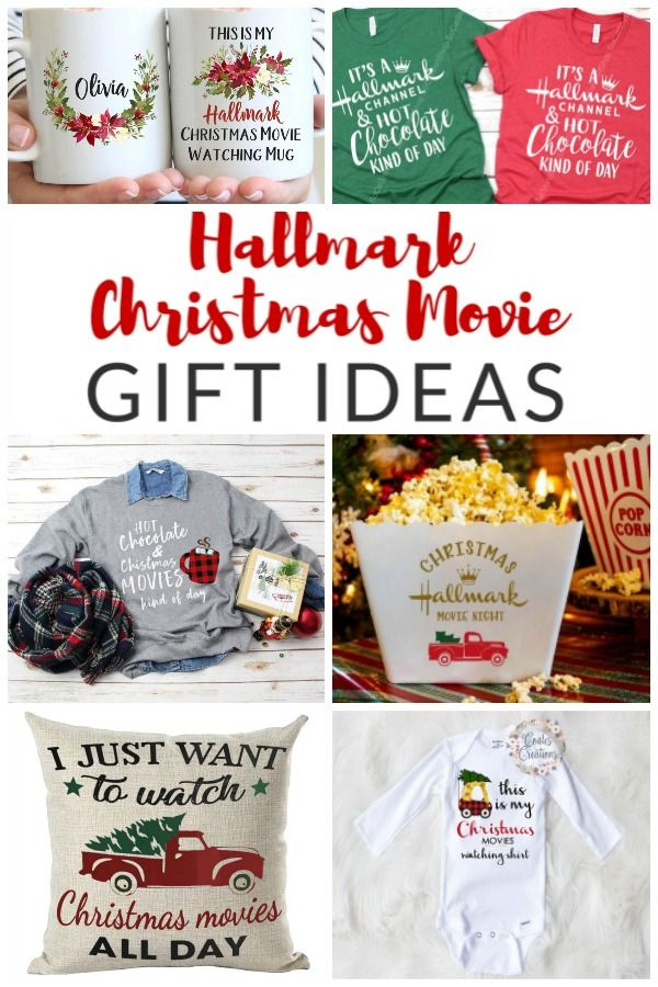 Hallmark Christmas Movie Gifts - Ideas for Christmas Movie Lovers - The Crazy Craft Lady
