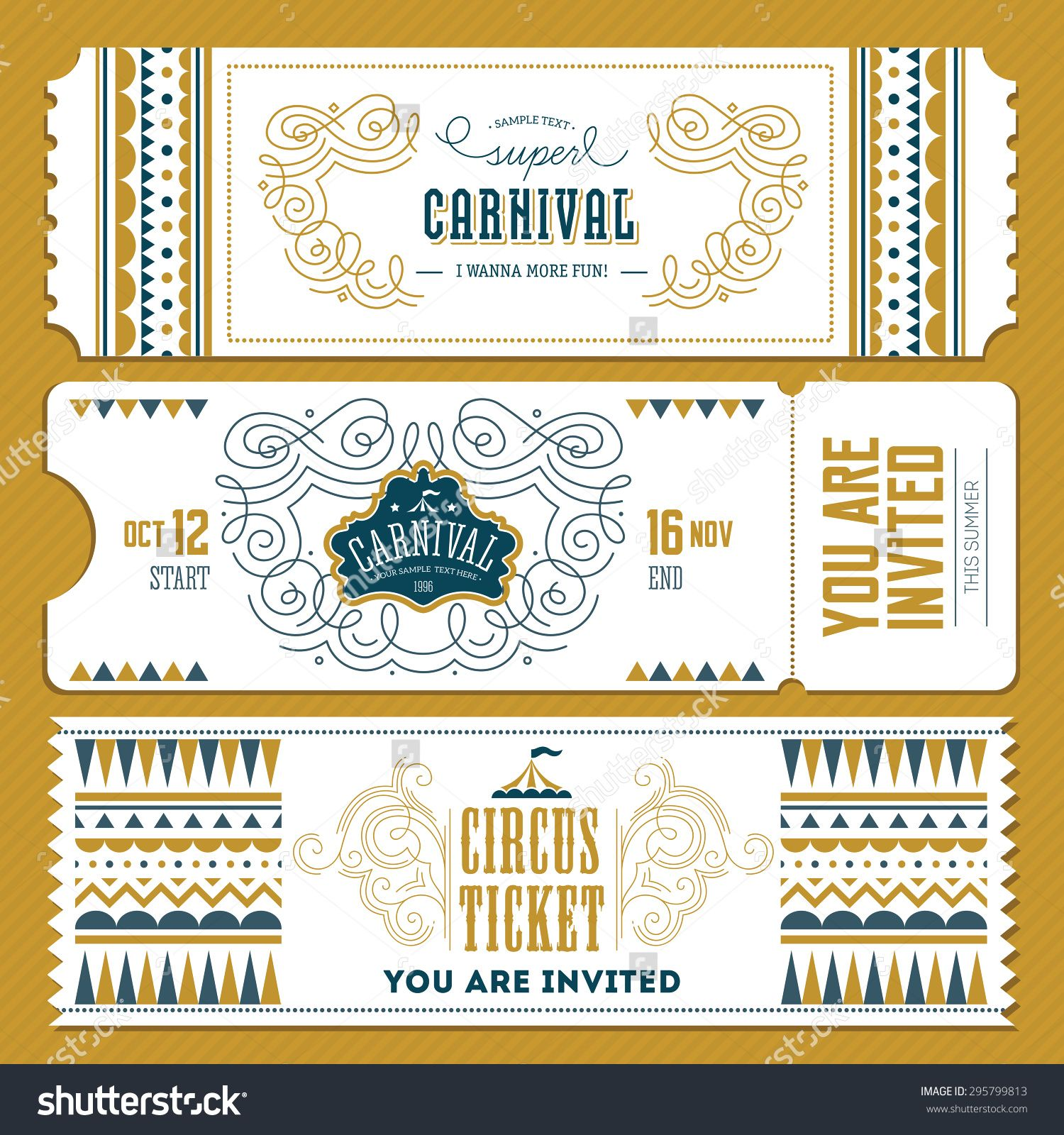 Stock vector vintage circus banner collection ticket invitation stock vector vintage circus banner collection ticket invitation vector illustration 295799813g 15001600 stopboris Images