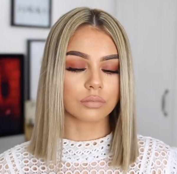 Halblange Frisuren 2019 Haare Haare Lang Haare Ha Pensez A New York Fameuse In 2020 Straight Blonde Hair Hair Styles Short Hair Styles