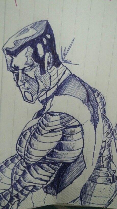 #sketch #boceto #fighter #Colosso #Xmen