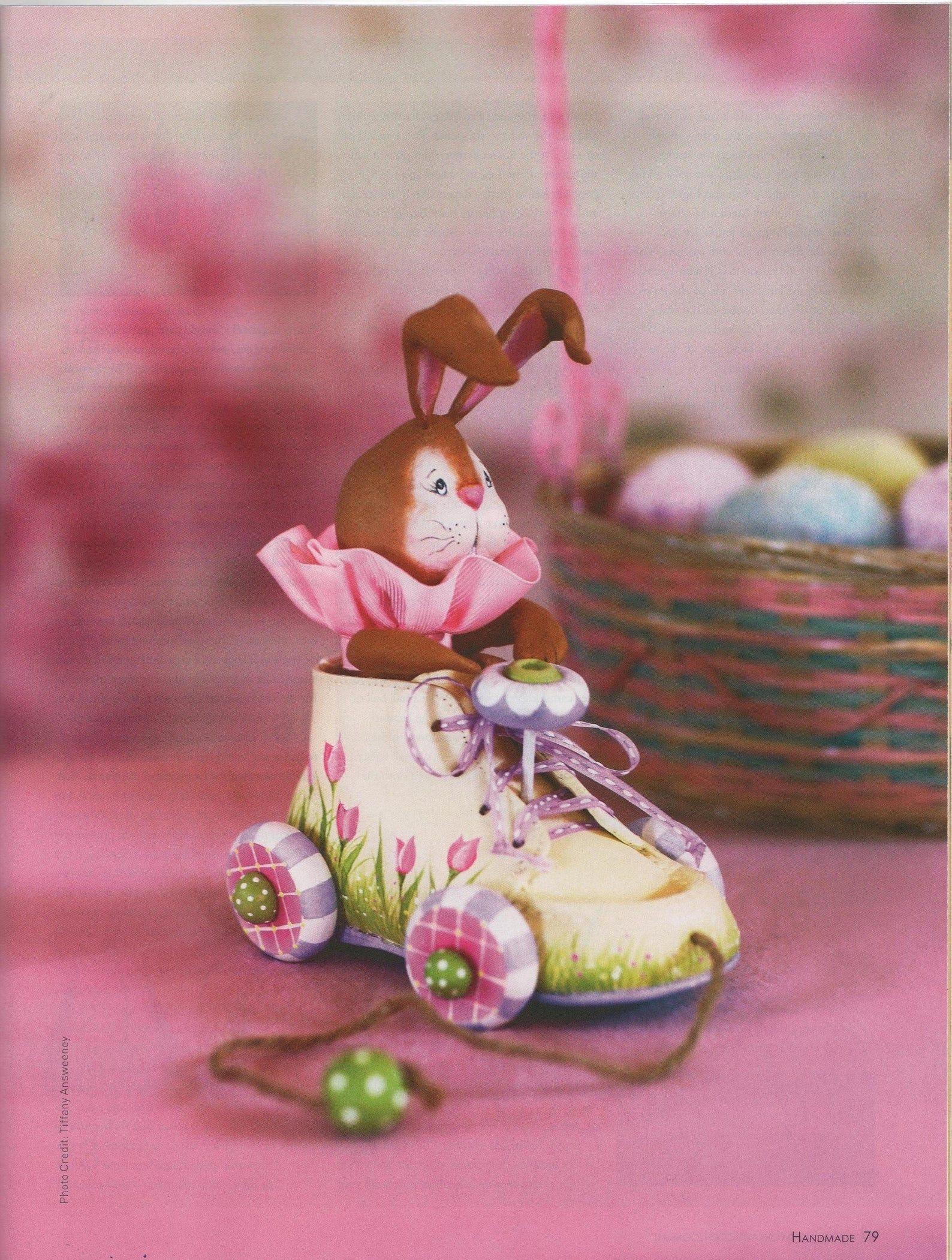Easter Bunny Shoe Car