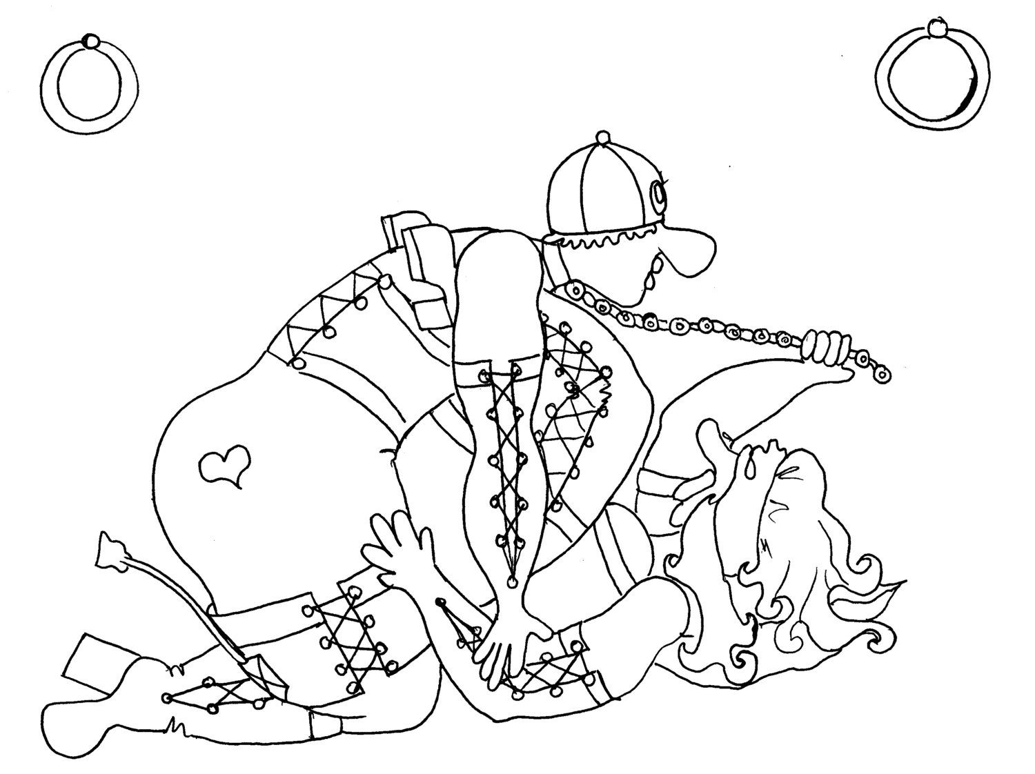 indrani kama sutra coloring page from chubby art