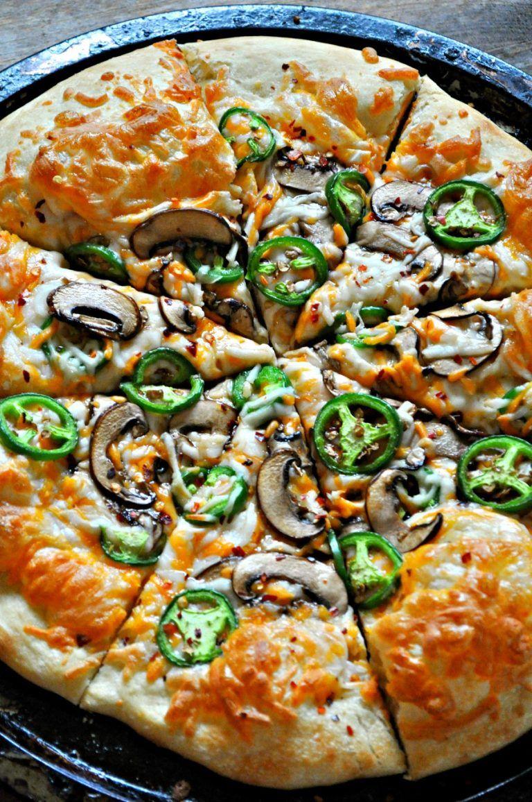Vegan Jalapeno Popper Pizza