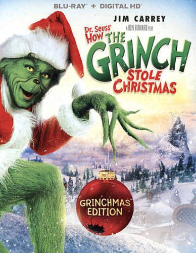 How the grinch stole christmas new blu-ray Grinch stole christmas
