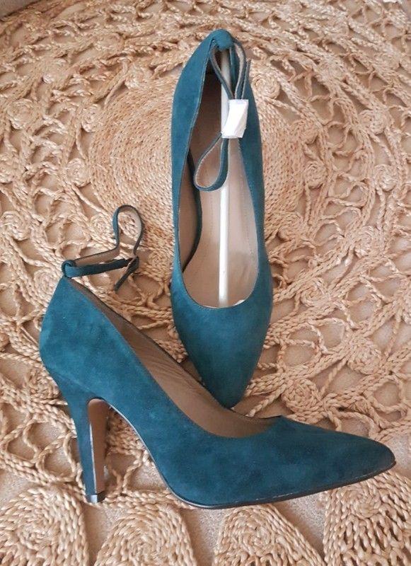 grossiste d94a7 8dbe0 Escarpins turquoise foncé vintage   vinted   Escarpins ...