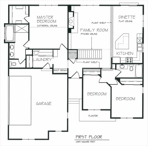 17 Best 1000 images about Floor Plans on Pinterest Open floor house