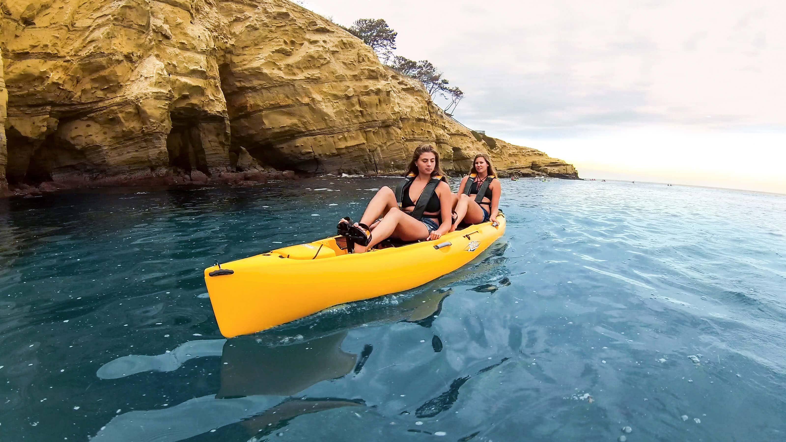 Hobie Oasis Tandem Kayak La Jolla Kayaking Kayaks For Sale Tandem Kayaking